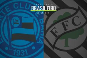 Bahia 3 x 0 Figueirense. Apagão em campo de várzea
