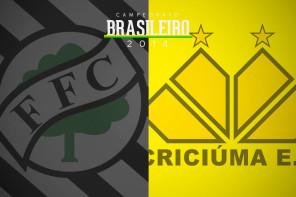 Figueirense 1 x 1 Criciúma – Jogo ruim, resultado ruim