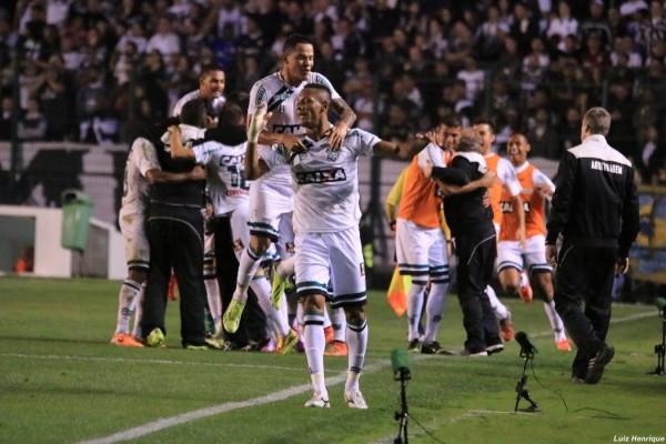 figueirense marcao comemoracao gol corinthians
