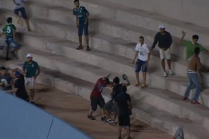Figueira perde um mando de campo por briga em Goiás
